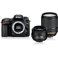 Nikon D7500 černý + objektiv 18 - 140mm + objektiv 35mm DX