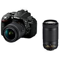 Nikon D5300 černý + 18-55mm AF-P VR + 70-300mm AF-P VR