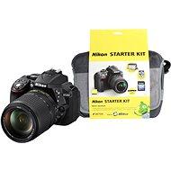 Nikon D5300 + Objektiv 18-105 AF-S VR + Nikon Starter Kit
