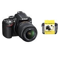 Nikon D5500 + Objektiv 18-55 AF-P VR + Nikon Starter Kit