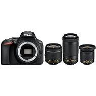 Nikon D5600 + AF-P 18-55mm VR + 70-300mm VR + 10-20mm VR
