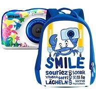 Nikon COOLPIX W100 námořní modrá backpack kit