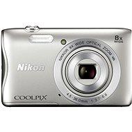 Nikon COOLPIX S3700 stříbrný