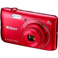 Nikon COOLPIX A300 červený