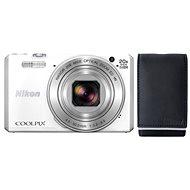 Nikon COOLPIX S7000 bílý + poudro