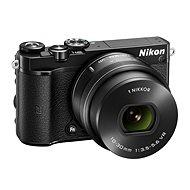 Nikon 1 J5 černý + objektiv 10-30mm