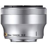 NIKKOR 32mm f/1.2 silver
