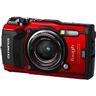 Olympus TOUGH TG-5 červený + Power Kit