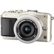 Olympus PEN E-PL6 + objektiv 14-42mm EZ stříbrný/stříbrný + 8GB SD FlashAir karta