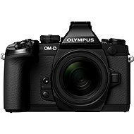 Olympus E-M1 black + 12-50mm + bateriový grip
