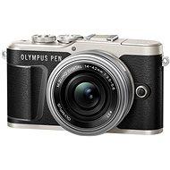 Olympus PEN E-PL9 černý + M.Zuiko Pancake 14-42mm