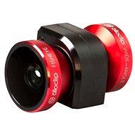 Olloclip 4in1 lens system pro iPhone 5/5S/SE, červený
