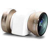 Olloclip 4in1 lens system pro iPhone 5/5S/SE, zlatý