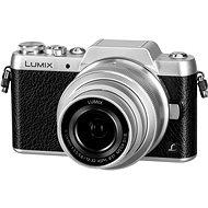 Panasonic LUMIX DMC-GF7 stříbrný + objektiv 12-32mm