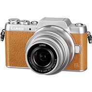 Panasonic LUMIX DMC-GF7 hnědý + objektiv 12-32mm