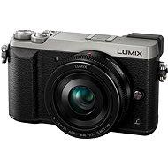 Panasonic LUMIX DMC-GX80 stříbrný + objektiv 20mm