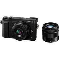 Panasonic LUMIX DMC-GX80 černý + objektiv 12-32mm + objektiv 35-100mm