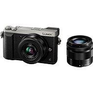 Panasonic LUMIX DMC-GX80 stříbrný + objektiv 12-32mm + objektiv 35-100mm
