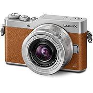 Panasonic LUMIX DMC-GX800 hnědý + objektiv 12-32mm