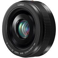 Panasonic Lumix G 20mm F1.7 černý