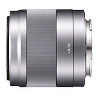 Sony 50mm F1.8 stříbrný
