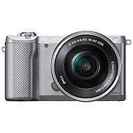 Sony Alpha 5000 stříbrný + objektiv 16-50mm
