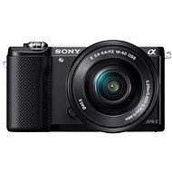 Sony Alpha A5000 černý + objektivy 16-50mm a 55-210mm