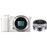 Sony Alpha A5100 bílý + objektiv 16-50mm