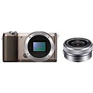 Sony Alpha A5100 hnědý + objektiv 16-50mm
