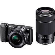 Sony Alpha A5100 černý + objektiv 16-50 + 55-210mm