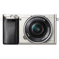 Sony Alpha A6000 stříbrný + objektiv 16-50mm