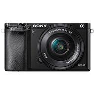 Sony Alpha A6000 černý + objektivy 16-50mm + 55-210mm