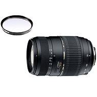 TAMRON AF 70-300mm F/4-5.6 Di pro Nikon LD Macro 1:2 + UV filtr Hama 0-HAZE