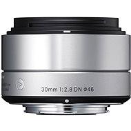 SIGMA 30mm F2.8 DN ART stříbrný OLYMPUS