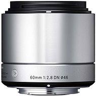SIGMA 60mm F2.8 DN ART stříbrný SONY