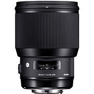 SIGMA 85mm F1.4 DG HSM Art pro Nikon