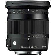 SIGMA 17-70mm F2.8-4 DC MACRO OS HSM pro Canon (řada Contemporary)