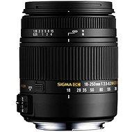 SIGMA 18-250mm F3.5-6.3 DC Macro OS HSM pro Canon