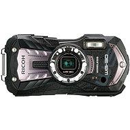 PENTAX RICOH WG-30 Wi-fi Carbon grey + 16 GB SD karta + neoprénové pouzdro + plavací řemínek