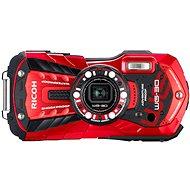 PENTAX RICOH WG-30 Vermilon red + 16 GB SD karta + neoprénové pouzdro + plavací řemínek