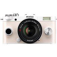 PENTAX RICOH Q-S1 bílý+ Standard Zoom 5 - 15mm černý