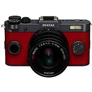 PENTAX RICOH Q-S1 červeno/šedý+ Standard Zoom 5 - 15mm černý