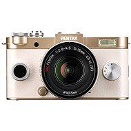 PENTAX RICOH Q-S1 zlatý+ Standard Zoom 5 - 15mm černý
