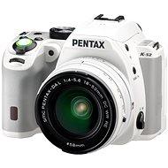 PENTAX K-S2 bílý + 18-50mm WR
