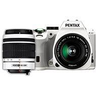 PENTAX K-S2 bílý + 18-50WR + 50-200WR