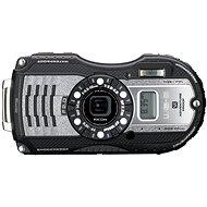 PENTAX RICOH WG-5 GPS Gun metallic + 16 GB SD karta + neoprénové pouzdro + plavací řemínek