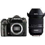 PENTAX K-1 černý + FA 24-70 WR