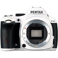 PENTAX K-50 tělo bílé