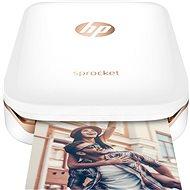 HP Sprocket Photo Printer bílá