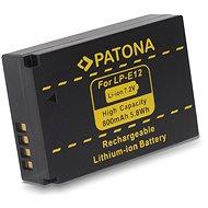PATONA pro Canon LPE12 800mAh Li-Ion